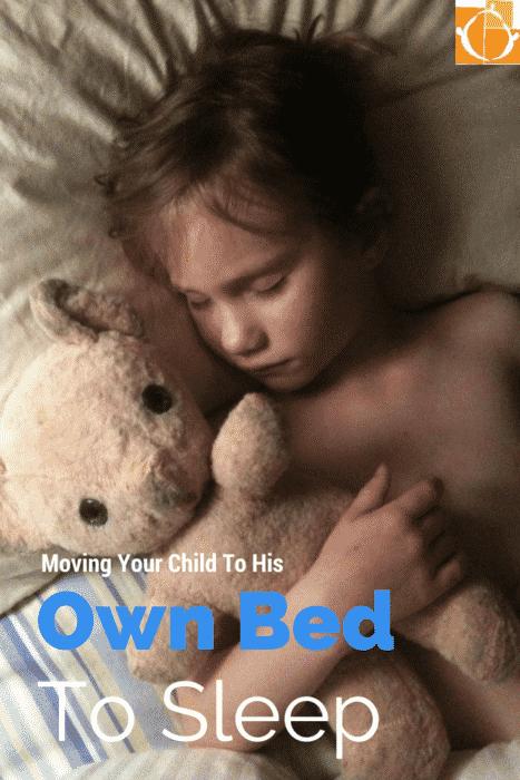 child own bed sleep