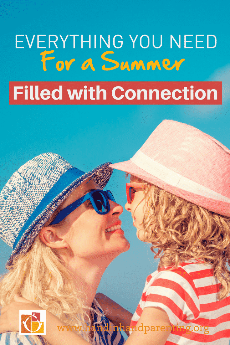 mum and girl in sunglasses smiling at one another in image titled Everything You Need for a Summer Filled with Connection