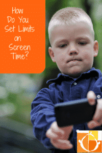 Setting Limits On Screen Time What Does >> Setting Limits Around Screen Time Hand In Hand Parenting