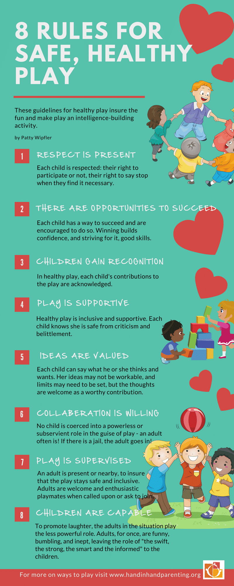 Rules For A Girls Bedroom: 8 Rules For Safe And Healthy Play [Infographic]