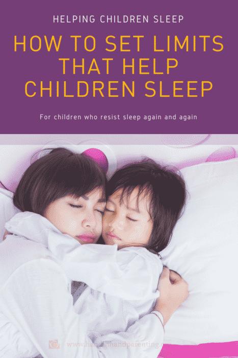 bedtime, set limits, parenting, gentle