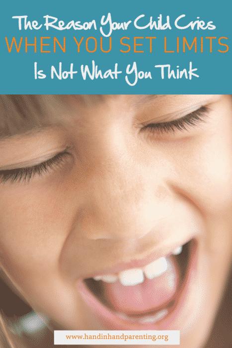 Parenting, setting limits, behavior, crying