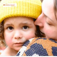 Mom hugging sad child after a meltdown